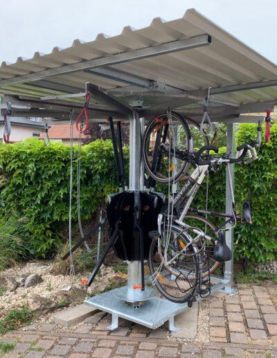 MBV Woodstock 10-fach Fahrradparker